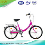 20inch Pink Lady Bicycle/Bike with Colored Bicycle Parts (SH-CB104)