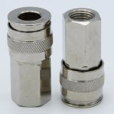 """Stainless Steel Industrial Quick Coupler Air Chief Industrial Interchange Quick-Connect Hose Fitting 1/4"""" NPT Female"""