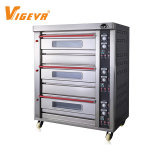 3 Deck 6 Tray Industrial Commercial Cake Machine Gas Bread Pizza Bakery Oven Prices