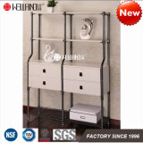 2017 High Quality Livingroom or Office Corner Storage Steel-Wooden Furniture