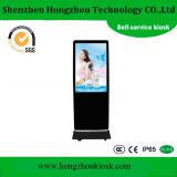 55 Inch Floor Standing Double Sides Outdoor LCD Advertising Kiosk