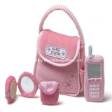 Latest Design Pink Plush Playset for Baby Girl (GT-09720)