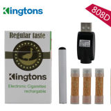 Rechargeable 280 mAh Kingtons 808d Electronic Cigarette with Cheap Cartomizer