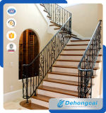 Ornamental Outdoor Wrought Iron Stair Railing