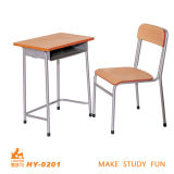 Hot Sale Steel Wood School Students Desk and Chair