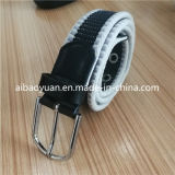 Single Layer Canvas Inelastic Strap Belt with Pin Buckle