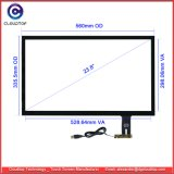Hardened Glass Capacitive Touch Screen Manufacturer for 23.8 Inch Touch Panel
