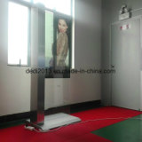New Design 49inch Freestanding Touchscreen Transparent LCD Display