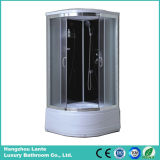 Tempered Glass Aluminum Alloy Frame Shower Box (LTS-606)