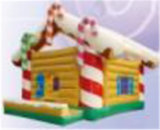 Hot-Selling Christmas Decoration Inflatable Bouncer Jumper for Kids