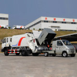 China New Garbage Truck with 10m3 Capacity Europe IV