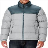 2015 Mens Contrast Color Outdoor Padded Goose Down Jacket