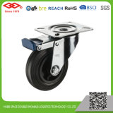 100mm Swivel Locking Rubber Castor (P103-31D100X30IS)