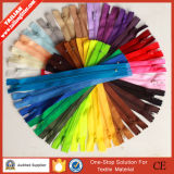 2016 Tailian Colored Nylon Zippers Wholesale by Zipper Manufacturer