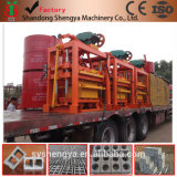 Manual Hollow Block/Brick Making Machine (QTJ4-40B)