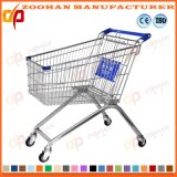 High Quality Supermarket European Style Shopping Trolley Market Cart (Zht114)