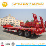 Manufactures 2 Axles Low Bed Semi Trailer Trailers Cheapest Price for Sale