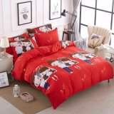 OEM Made in China Manufacture Printed Polyester Bedding Set