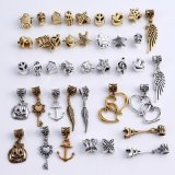 Mixed Beads Fit Antique Silver Jewelry Accessories for Metal DIY