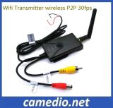 Waterproof Wireless P2p 30fps for Smart Phone CCTV Fpv System Realtime Car Video WiFi Transmitter for Rearview Camera