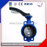 Concentric Double Stem Butterfly Valve with Aluminum Handle