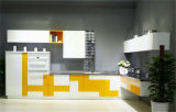 Modular Simple Design Metal Kitchen Cabinet
