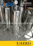 Stainless Steel Single Round Cartridge Filter Housing