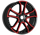 After Market Alloy Wheels with Color Machine Face