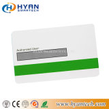 Cheap Printable RFID PVC White Card with Signature Panel Stripe