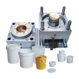 Wholesale Injection Mold for Plastic Bucket with Cover and Handle