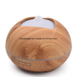 Essential Oil Diffuser, 400ml Aroma Wood Grain Ultrasonic Cool Mist Humidifier with Adjustable Mist for Office Home Room Study Esg10422