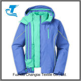 Women 3 in 1 Waterproof Windproof Hoodie Jacket