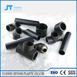 Water Supply Plastic Polyethylene Pipe Black HDPE Fittings