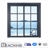 China Manufacturer Cheap Industrial Aluminum Sliding Door with Grills
