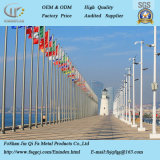 Factory Direct Sale Stainless Steel Round Tapered Used Flag Poles