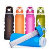 Five Colors 1L Wide-Mouth BPA Free Silicone Ultra Filtration Water Bottle