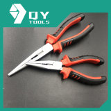Nickel Planted Classic Handle Multi-Use Long Nose Pliers Nipper Pliers
