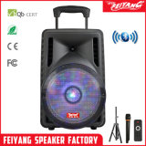 New Outdoor Portable Big Power Rechargeable Trolley Bluetooth Speaker F12-07