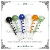 5.5 Inches Smoking Accessory Hookah Tobacco Pipes Glass Oil Burner