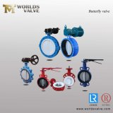 Ductile Cast Iron Di Ci Stainless Steel Barss EPDM Seat Water Resilient Wafer Lug Lugged Type Double Flange Industrial Butterfly Valve Gate Swing Check Valves