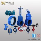 Resilient Seated Concentric Type Ductile Cast Iron Industrial Control Wafer Lug Butterfly Valves with EPDM PTFE PFA Rubber Lining API/ANSI/DIN/JIS/ASME/Awwa