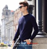 Men′s Cashmere Sweater with Round Neck (13brdm005-1)