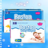 Sleep Soft Good Quality Ultra Thin Cheap China Factory Disposable Baby Diaper (JH001)