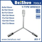 Y Type Shaped Outer Hex Wrench Spanner Socket Tool