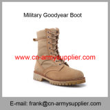 Wholesale Cheap China Army Brown Military Police Goodyear Desert Boot