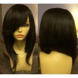 Fashion Virgin Brazilian Human Hair Bob Glueless Full Lace Wig