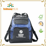 Hot Promotion Wholesale Tote Travel Drawstring Backpack Bag with Zipper