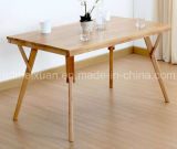 Solid Wooden Dining Table Living Room Furniture (M-X2419)
