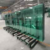 China Factory Clear Curved Tempered Laminated Glass Price Safety Building Glass