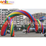 Inflatable Rainbow Colorful Arch for Sale Trade Show